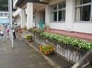 田老第一小学校の花壇